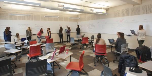 Ellis Hall Active Learning Classroom - Sharing