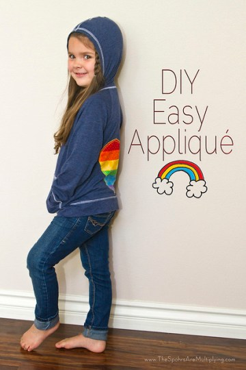 DIY Easy Appliqué