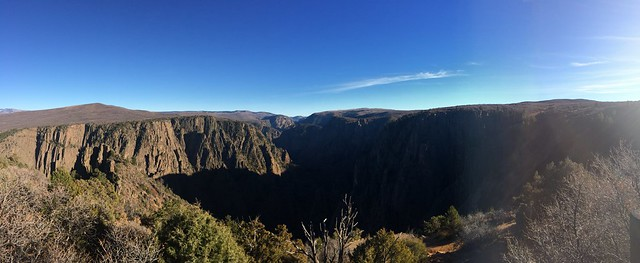 Picture from the Black Canyon of the Gunnison