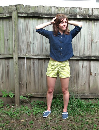 Archer Shirt & Maritime Shorts
