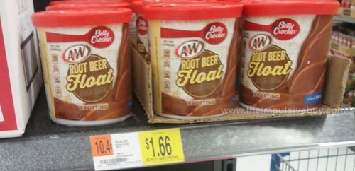 Betty Crocker A&W Root Beer Float Frosting