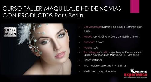 Curso-Taller de Maquillaje de Novias HD