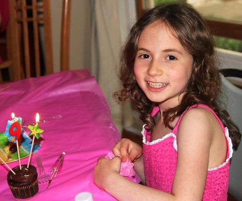 cupcakes 9th bday