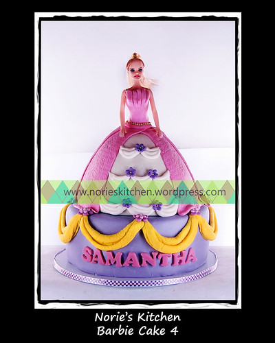 Norie's Kitchen - Barbie Cake 4 by Norie's Kitchen