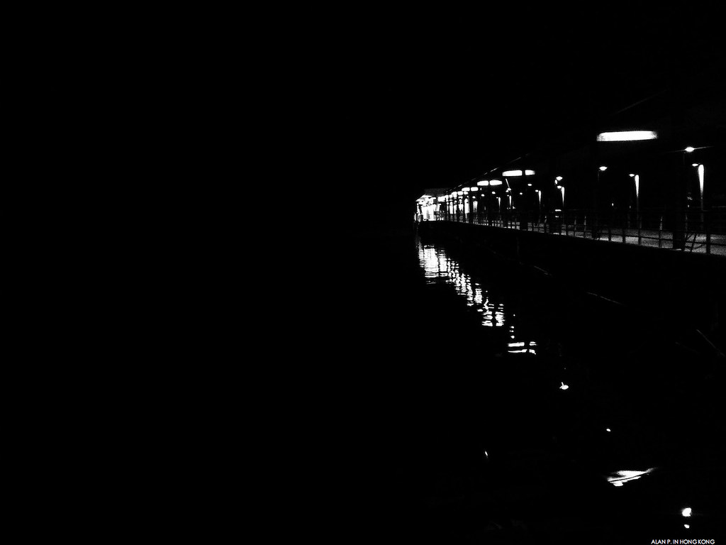 Pier in the Darkness