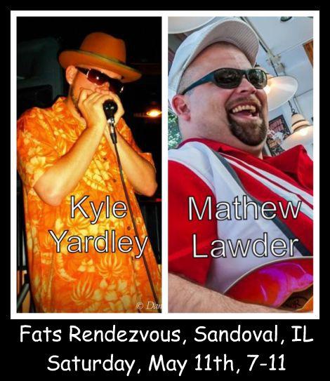 Kyle Yardley Blues Band Matt Lawder 5-11-13