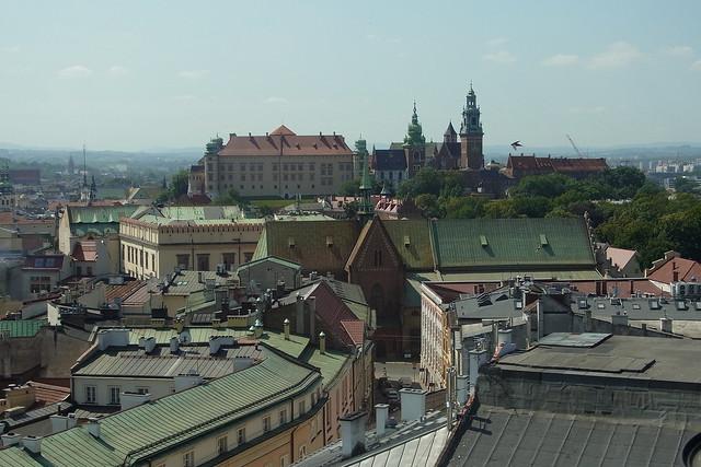 Blick auf den Wawel