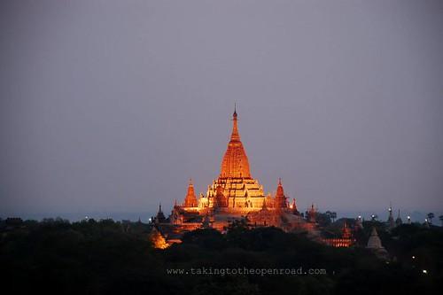 Bagan Ananda dawn