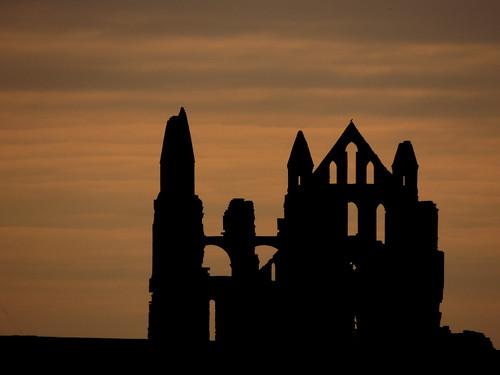 Whitby Abbey Sunrise