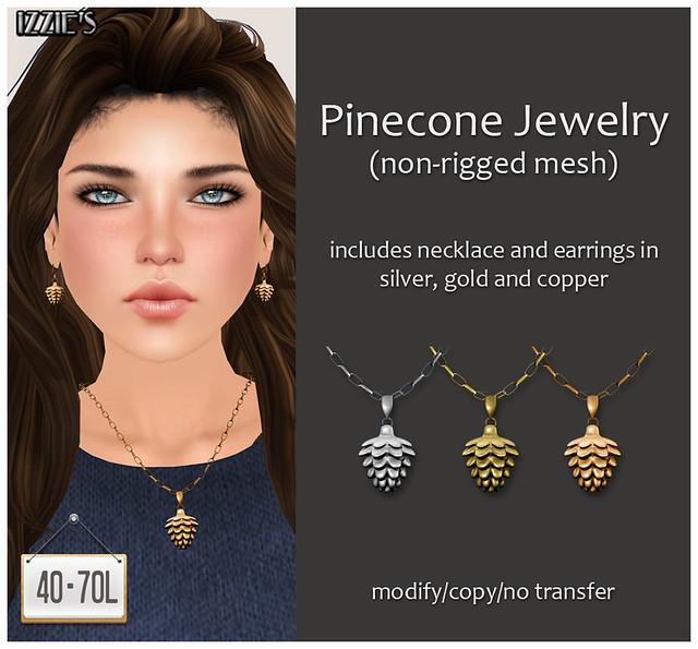 TDRF (Pinecone Jewelry)