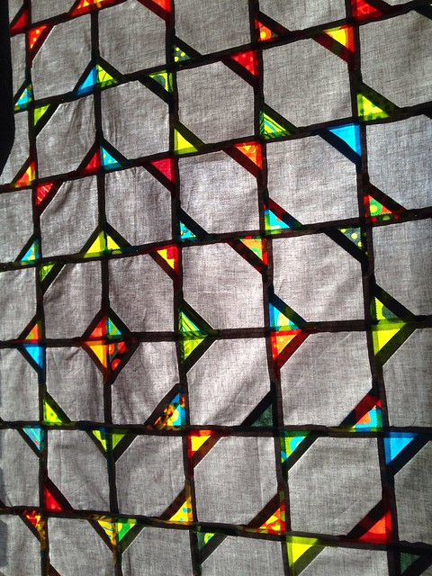 Sunlight Through a Modified Bow Tie Quilt