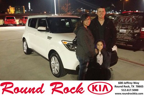 Thank you to Paulinda Baker on your new 2014 #Kia #Soul from Fernando Fernandez and everyone at Round Rock Kia! by RoundRockKia