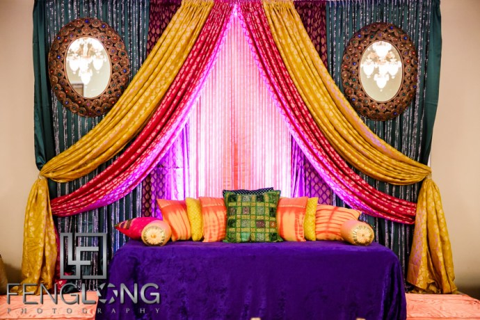 Shai & D's Garba & Pithi Night | Mughal's Banquet Hall | Atlanta Hindu Ismaili Fusion Wedding Photography