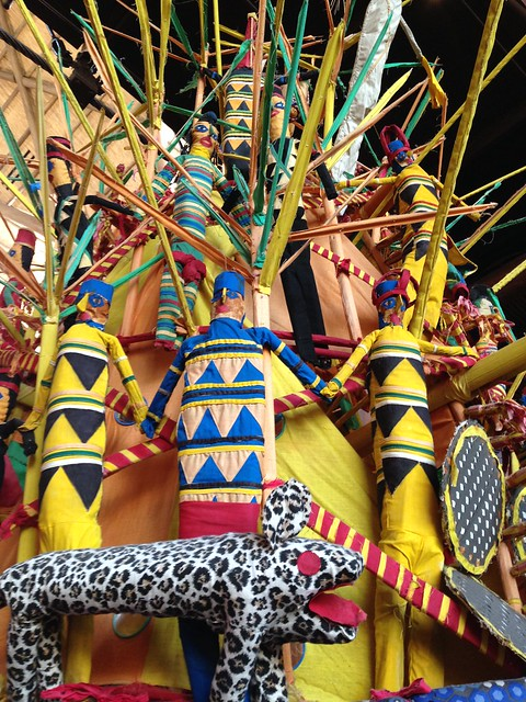 Igbo Ijele Mask at Animal Kingdom Lodge
