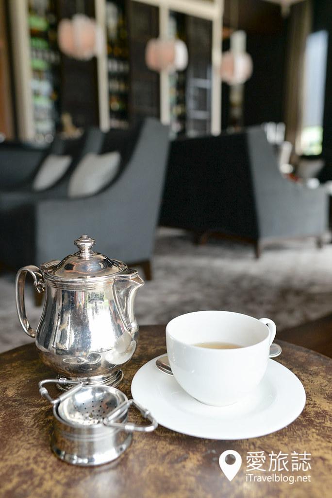 《曼谷下午茶》瑞吉酒店下午茶:城市绿地陪伴的午后时光