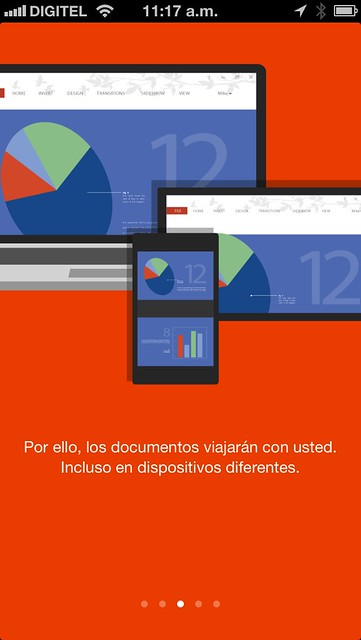 Nuevo Office 365 para iPhone