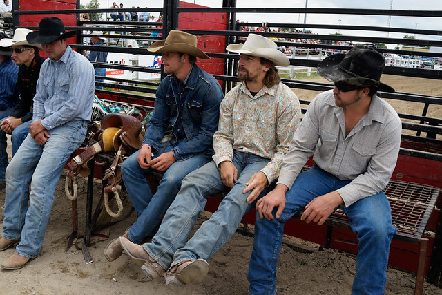 Rodeo Cowboys Exeter Ram Rodeo