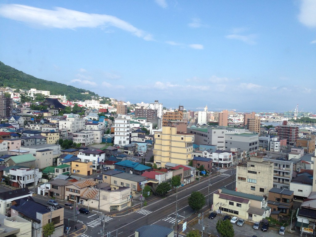 Morning View of Hakodate