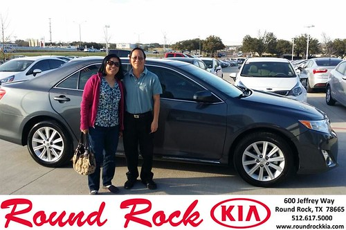 Thank you to Diane Thi on your new 2012 #Toyota #Camry from Roberto Nieto and everyone at Round Rock Kia! by RoundRockKia