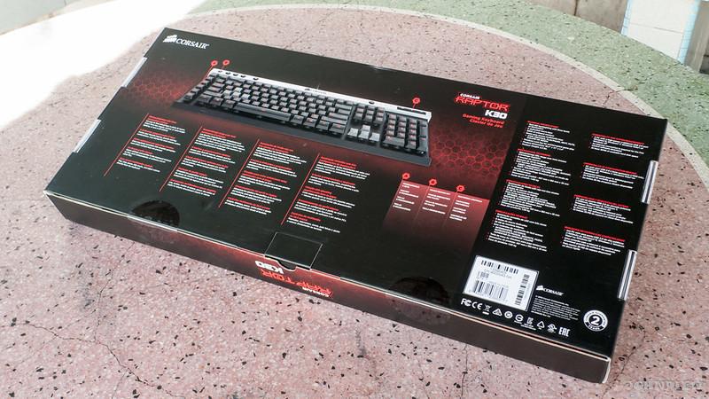 Corsair Raptor K30 and K50 Gaming Keyboards 2