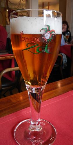 Brugse Zot Beer in Bruges