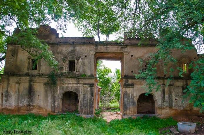 Ruins of hindu temple ammapalle hyderabad