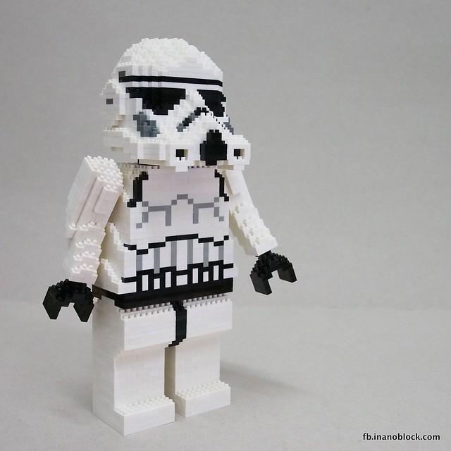 nanoblock Stormtrooper, by inanoblock