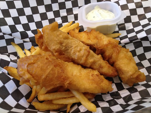 True cod 'n chips - Anthony's Fish Bar