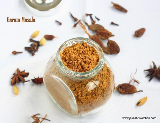 Garam -masala- recipe