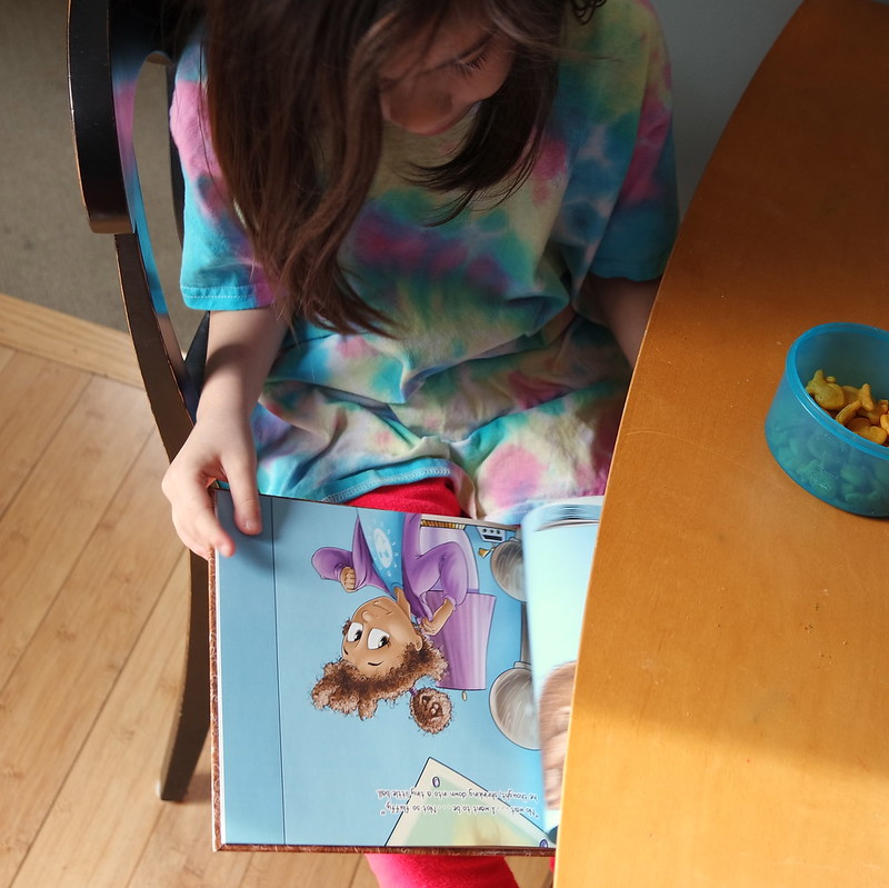 """Reading """"The Magic Poof"""""""