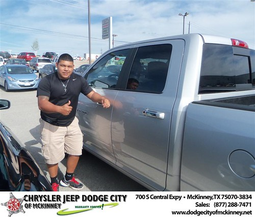 Dodge City of McKinney would like to say Congratulations to Desire Nandin on the 2012 Dodge Ram by Dodge City McKinney Texas