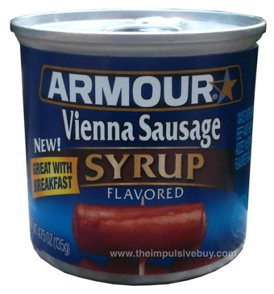 Armour Syrup Flavored Vienna Sausage