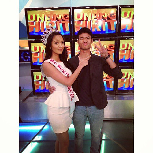 Megan with Mikael Daez