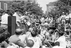 Jane Fonda Speaks to Antiwar Rally at U of Md.: May 1970