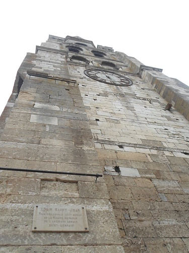 12th Century Romanesque Tower, Abbaye St. Germain