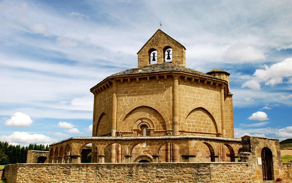8. Iglésia románica de Santa María de Eunate, Navarra. Autor, Rufino Lasaosa