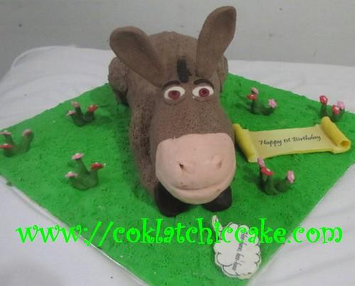 Kue ulang tahun donkey shrek