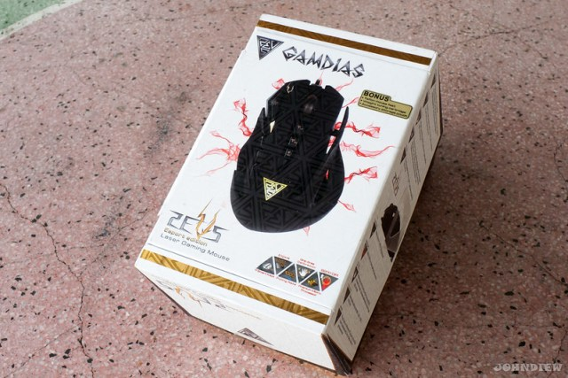 GAMDIAS ZEUS Esport Edition Laser Gaming Mouse 47