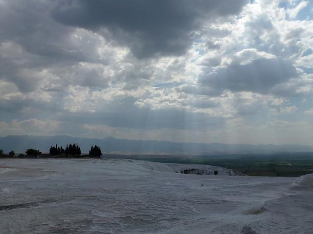 Turquie - jour 12 - De Kas à Pamukkale - 073 - Château de coton