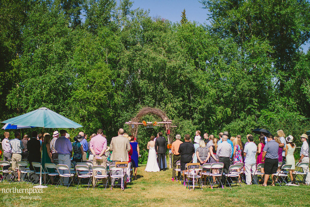 Peter & Marissa's Farm Wedding Ceremony