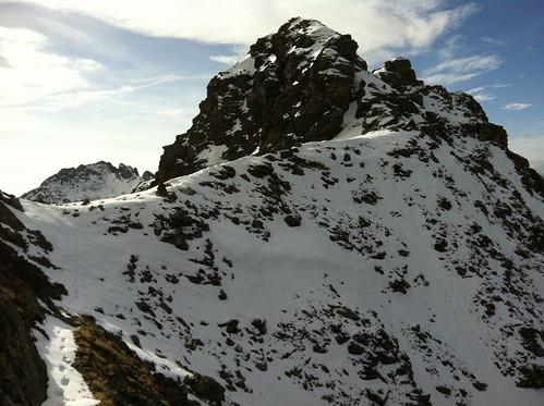 Aufstieg Napfspitze 2.888 m