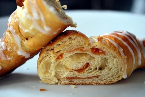 Maple beican croissant