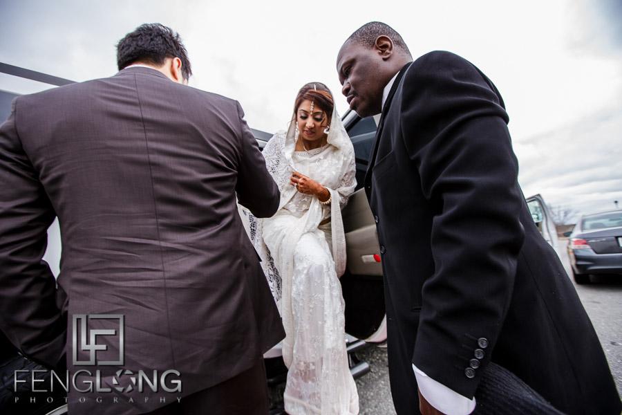 Ismaili Khoba Khobi ceremony on wedding day