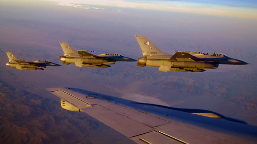 Pakistan Air Force F-16s by Uflinks