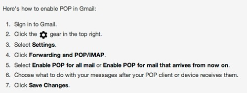 Get started with IMAP and POP3 - Gmail Help