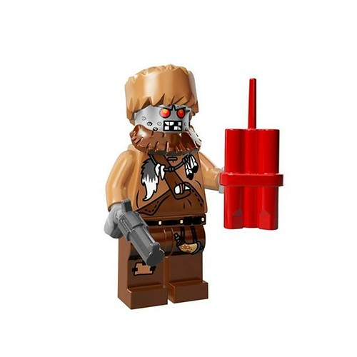 The LEGO Movie Minifigures Wiley Fusebot