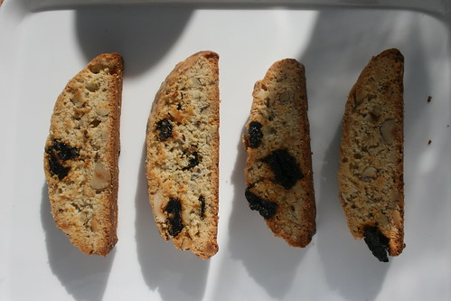 sour cherry & hazelnut biscotti by the james kitchen