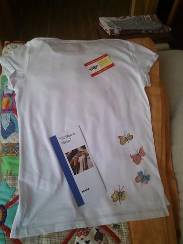 Camiseta Pintada a mano by alialba