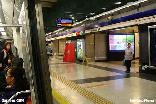 Metro de Santiago - Vicente Valdés (L4)