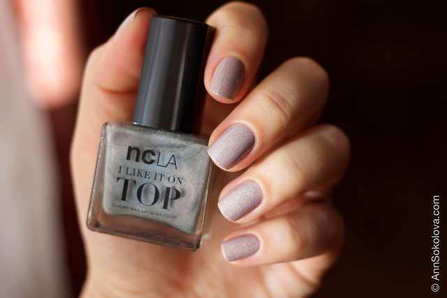 08 NCLA   I Like It On Top   Shimmer Me Pretty + Morgan Taylor   Magician's Assistant sunlight